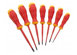 Fluke IKSC7 Insulated 7 Unit Screwdriver Kit, 1000 V-