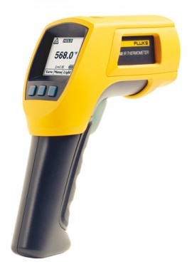 Fluke 568 Infrared and Contact Thermometer, -40 to 1472°F-