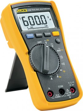 fluke 115 digital multimeter with true rms for field service technicians rh myflukestore com fluke 115 service manual fluke 115 manual español