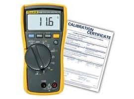 Fluke 116-NIST HVAC/R Multimeter, includes Traceable Certificate