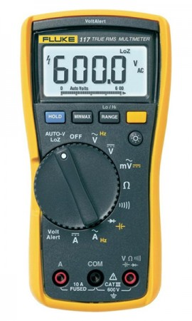 Fluke 117efsp Digital Multimeter With Non Contact Voltage For