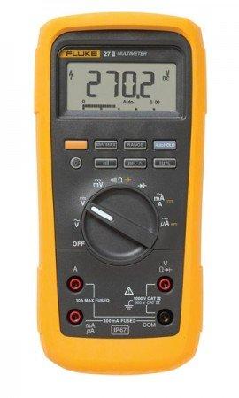 fluke 27 ii industrial multimeter with ip67 rating rh myflukestore com fluke 27fm multimeter manual Fluke 115 Manual PDF