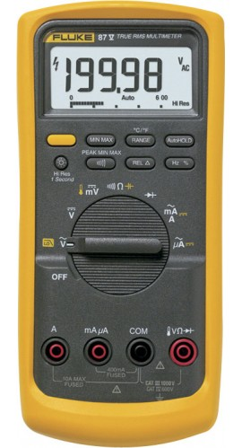 fluke 87v industrial true rms multimeter with temperature rh myflukestore com Fluke 87V True RMS Multimeter Manual Fluke 87V True RMS Multimeter Manual