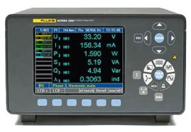 Fluke N4K 1PP54 Norma 4000 Single Phase Power Analyzer with PP54 Module-