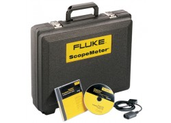 Fluke SCC120F Special Value Kit for 120 Series with Software (French), Cable & Carrying Case-