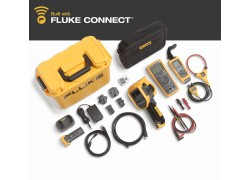 FLK-TI400-60HZ/FCA Fluke Industrial Thermal Imager with DMM A3001 FC iFlex Kit, Fluke Connect & LaserSharp Focus-